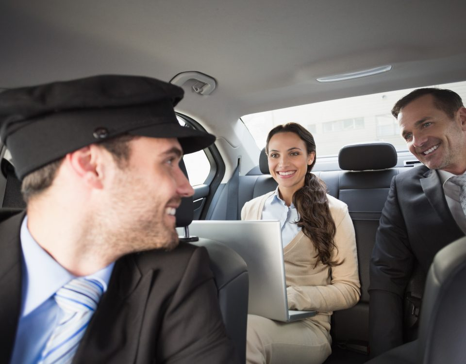 service de transfert avec chauffeur professionnel